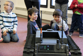 Robotics family event MN