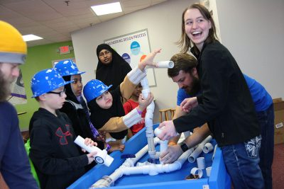 Family science event twin cities