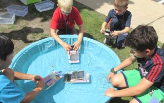 backyard STEM activities for kids
