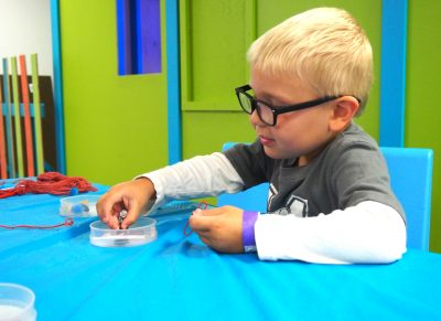 Exploring Magnets at and getting excited about engineering at Pop-Up Engineering