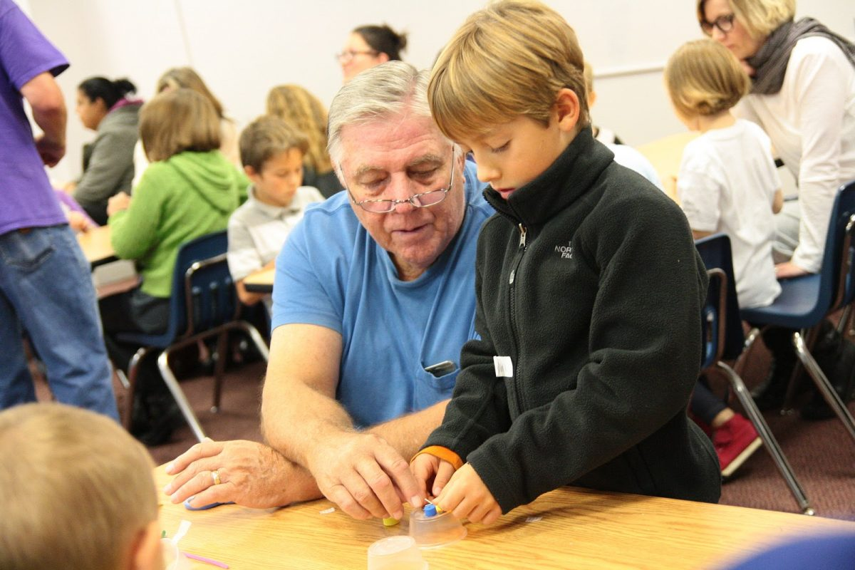 Grandparents Day at the Works Museum