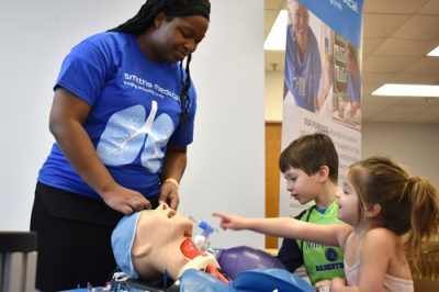 kids explore medical technology at Tech Fest