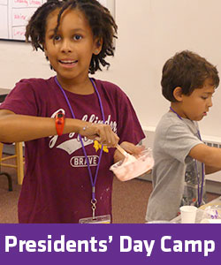 Presidents' Day Camp for Kids